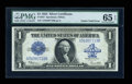 Error Notes:Large Size Errors, Fr. 237 $1 1923 Silver Certificate PMG Gem Uncirculated 65 EPQ....
