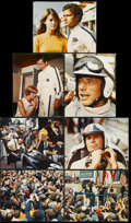 "Movie Posters:Sports, Grand Prix (MGM, 1967). Jumbo Lobby Cards (7) (16"" X 20""). Sports.... (Total: 7 Items)"