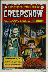 """Creepshow (UFDC, 1982). Autographed One Sheet (27"""" X 41""""). Horror"""