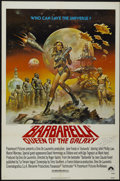 "Movie Posters:Science Fiction, Barbarella (Paramount, R-1977). Autographed One Sheet (27"" X 41"").Science Fiction...."