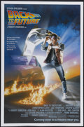"Movie Posters:Science Fiction, Back to the Future (Universal, 1985). One Sheet (27"" X 41"")Advance. Science Fiction...."
