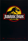 """Movie Posters:Science Fiction, Jurassic Park (Universal, 1993). One Sheet (27"""" X 40"""") SS Advance.Science Fiction...."""