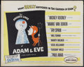 """Movie Posters:Comedy, Private Lives of Adam and Eve (Universal International, 1960). Half Sheet (22"""" X 28""""). Comedy...."""