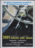 "Movie Posters:Science Fiction, 2001: A Space Odyssey (MGM, 1968). Italian 2 - Folio (39"" X 55"").Science Fiction...."