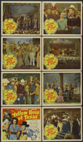 """Movie Posters:Western, The Yellow Rose of Texas (Republic, 1944). Lobby Card Set of 8 (11""""X 14""""). Western.... (Total: 8 Items)"""