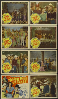 """The Yellow Rose of Texas (Republic, 1944). Lobby Card Set of 8 (11"""" X 14""""). Western.... (Total: 8 Items)"""