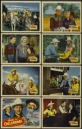 """Movie Posters:Western, Home in Oklahoma (Republic, 1946). Lobby Card Set of 8 (11"""" X 14""""). Western.... (Total: 8 Items)"""