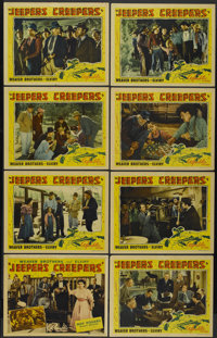 """Jeepers Creepers (Republic, 1939). Lobby Card Set of 8 (11"""" X 14""""). Western.... (Total: 8 Items)"""