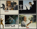 """Movie Posters:Crime, Dirty Harry Lot (Warner Brothers, 1971). Lobby Cards (4) (11"""" X14""""). Crime.... (Total: 4 Items)"""