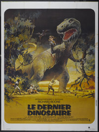 "The Last Dinosaur (Cinema International, 1977). French Grande (47"" X 63""). Science Fiction"