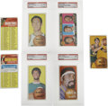 Basketball Cards:Lots, 1970-71 Topps Basketball Collection of 7. Includes #1 NBA ScoringLeaders PSA EX 5, 10 John Havlicek PSA EX-MT 6, 50 Wil...