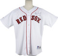 Autographs:Jerseys, Roger Clemens Signed Jersey. When Roger Clemens defended the homeground of Fenway Park, it was his numerous instances of h...