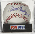 Autographs:Baseballs, Johnny Bench Single Signed Baseball, PSA Mint+ 9.5. Backstop herofor the Big Red Machine offers a top-notch single here. Ba...