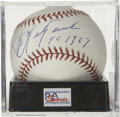 "Autographs:Baseballs, Carl Yastrzemski ""TC 1967"" Single Signed Baseball, PSA Gem Mint 10.The last major league Slugger to achieve the batting Tri..."