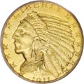 Proof Indian Half Eagles, 1911 $5 PR65 PCGS....