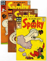 Spooky File Copies Group (Harvey, 1958-60) Condition: Average VF/NM.... (Total: 10 Comic Books)