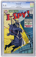 Silver Age (1956-1969):War, Showcase #50 I Spy (DC, 1964) CGC NM 9.4 Cream to off-white pages....