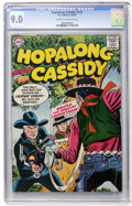 Silver Age (1956-1969):Western, Hopalong Cassidy #125 (DC, 1957) CGC VF/NM 9.0 Cream to off-whitepages....