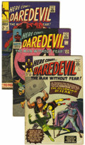 Silver Age (1956-1969):Superhero, Daredevil Group (Marvel, 1965-68) Condition: Average FN.... (Total: 7 Comic Books)