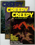 Magazines:Horror, Creepy and Eerie Group (Warren, 1965-82) Condition: Average FN.... (Total: 25 Comic Books)