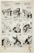 Original Comic Art:Panel Pages, Jack Kirby and Dick Ayers - Rawhide Kid #28, page 3 Original Art(Marvel, 1962)....