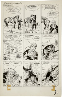 Jack Kirby and Dick Ayers - Rawhide Kid #28, page 3 Original Art (Marvel, 1962)