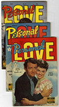 Golden Age (1938-1955):Miscellaneous, Personal Love Group (Famous Funnies, 1951-55) Condition: Average FN.... (Total: 13 Comic Books)