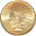 Indian Eagles, 1910 $10 MS66 PCGS....