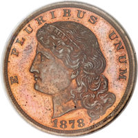 1878 $5 Five Dollar, Judd-1574, Pollock-1766, R.6, PR65 Red and Brown NGC....(PCGS# 71937)