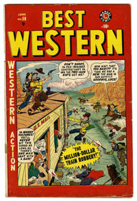 Best Western #58 (Marvel, 1949) Condition: GD/VG