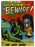 Golden Age (1938-1955):Horror, Beware #10 River City pedigree (Youthful Magazines, 1952)Condition: GD/VG....