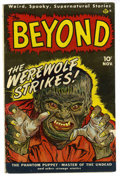 Golden Age (1938-1955):Horror, The Beyond #1 (Ace, 1951) Condition: FN....