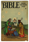 Golden Age (1938-1955):Religious, Bible Tales for Young Folk #1 (Atlas, 1953) Condition: GD/VG....