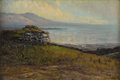 Fine Art - Painting, American:Modern  (1900 1949)  , MARY DENEALE MORGAN (American 1868-1948). Monterey Bay. Oilon canvas. 12 x 18 inches (30.4 x 45.7 cm). Signed lower rig...