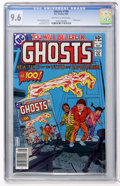 Modern Age (1980-Present):Horror, Ghosts #100 (DC, 1981) CGC NM+ 9.6 Off-white to white pages....