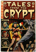Golden Age (1938-1955):Horror, Tales From the Crypt #41 (EC, 1954) Condition: VG....