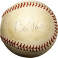 Autographs:Baseballs, 1950's Bill Veeck Single Signed Baseball. Baseball's answer to P.T.Barnum, this pioneering Hall of Famer brought the Americ...
