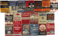 Baseball Collectibles:Others, 1940's-50's Putnam Team Biographies Complete Hardbound Set. Theliterate baseball historian will have many hours of reading...
