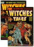 Golden Age (1938-1955):Horror, Witches Tales #13 and 14 File Copy Group (Harvey, 1952) Condition:Average FN.... (Total: 2 Comic Books)