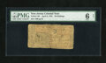 Colonial Notes:New Jersey, New Jersey April 8, 1762 30s PMG Net Good 6....