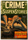 Golden Age (1938-1955):Crime, Crime SuspenStories #19 (EC, 1953) Condition: VF-....