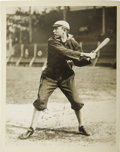 Baseball Collectibles:Photos, Circa 1906 Ty Cobb Signed Photograph to Grantland Rice. One early sporting legend sends his best regards to another. This ...