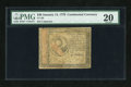 Colonial Notes:Continental Congress Issues, Continental Currency January 14, 1779 $30 PMG Very Fine 20....