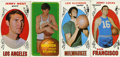 Basketball Cards:Lots, 1969-1970 Topps Basketball Collection of 4. Fantastic collection ofoversized Topps basketball cards from the early 1970s fe...
