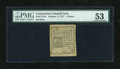 Colonial Notes:Connecticut, Connecticut October 11, 1777 4d Uncancelled PMG About Uncirculated 53....