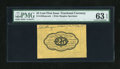 Fractional Currency:First Issue, Fr. 1282SP 25c First Issue Wide Margin Back with Morgan Courtesy Autograph PMG Choice Uncirculated 63 EPQ....