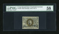 Fractional Currency:Second Issue, Fr. 1234 5c Second Issue PMG Choice About Unc 58....