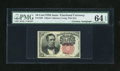 Fractional Currency:Fifth Issue, Fr. 1265 10c Fifth Issue with Morgan Courtesy Autograph PMG ChoiceUncirculated 64 EPQ....