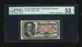 Fractional Currency:Fifth Issue, Fr. 1381 50c Fifth Issue with Wyman Courtesy Autograph PMG AboutUncirculated 53....