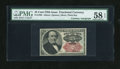 Fractional Currency:Fifth Issue, Fr. 1309 25c Fifth Issue with Wyman Courtesy Autograph PMG ChoiceAbout Unc 58 EPQ....